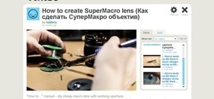 DIY your own SuperMacro lens with working aperture