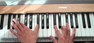 "Play ""Dynamite"" by Taio Cruz on the piano"