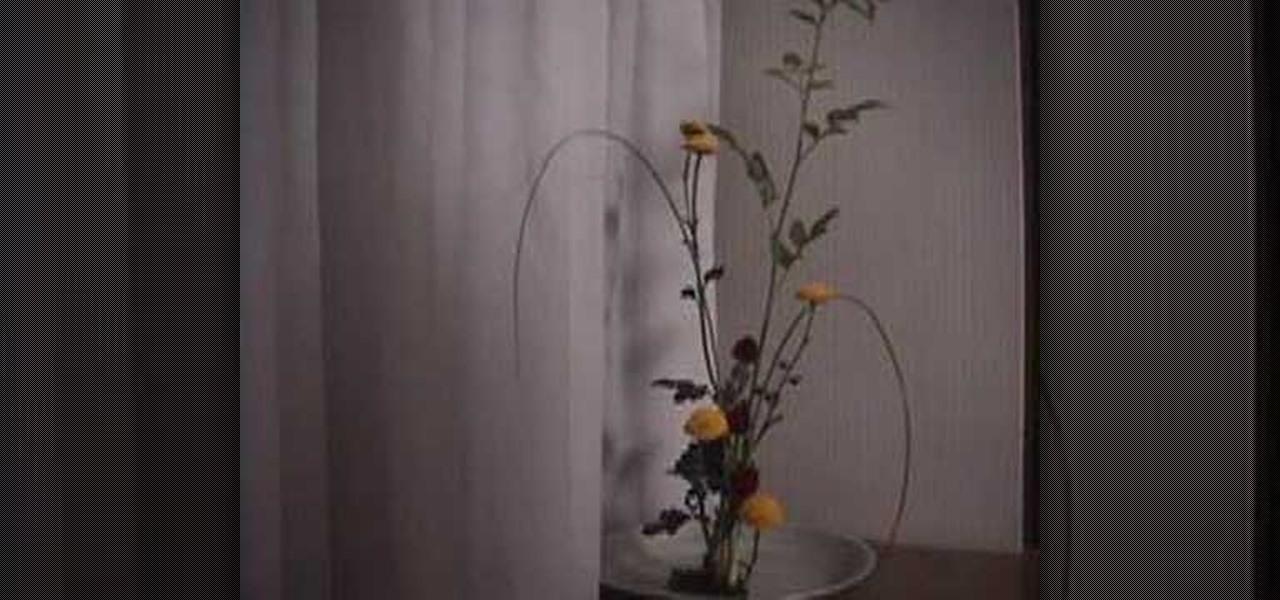 How To Make Ikebana Flower Arrangements Flower