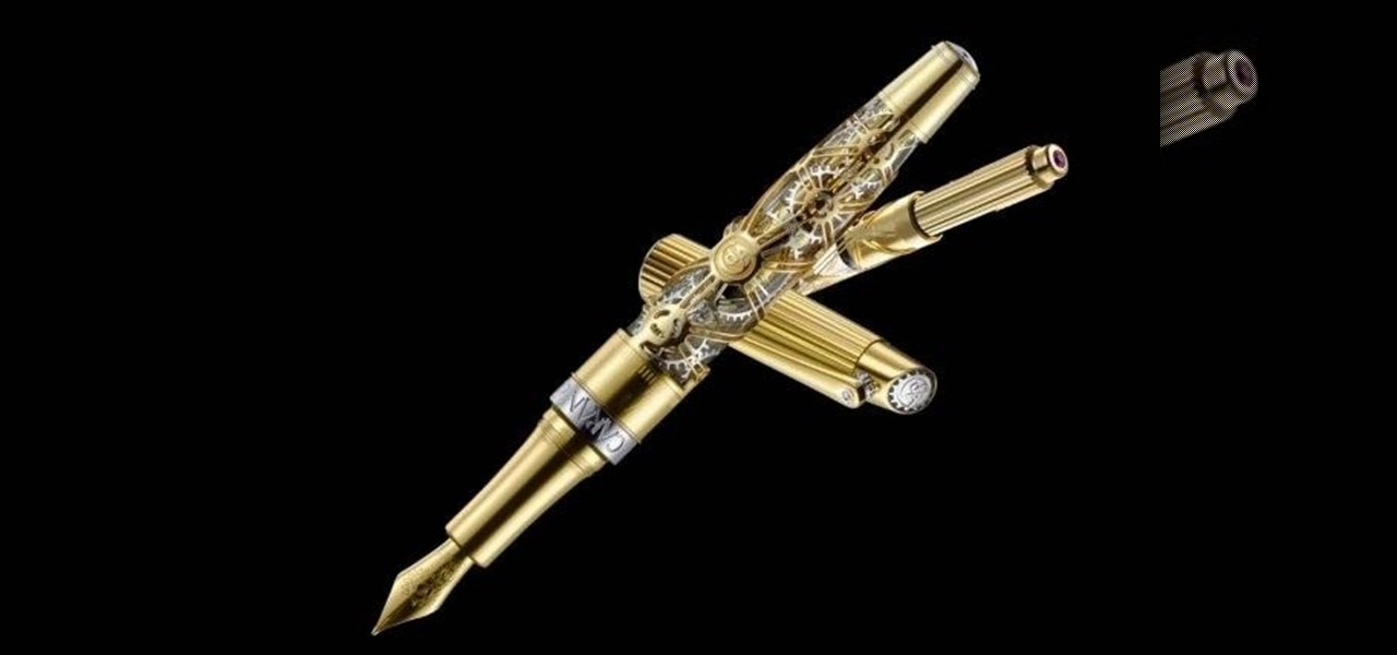 Writing Is a Lost Art, but Not with This Steampunk Pen