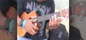 "Play ""Is There a Place"" by Gyptian on ukulele"