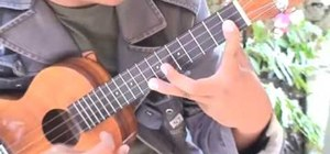 Perform finger-stretching warm-up exercises when playing the ukulele