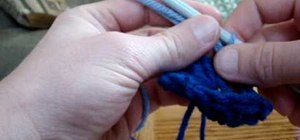 Crochet the start of  a granny square