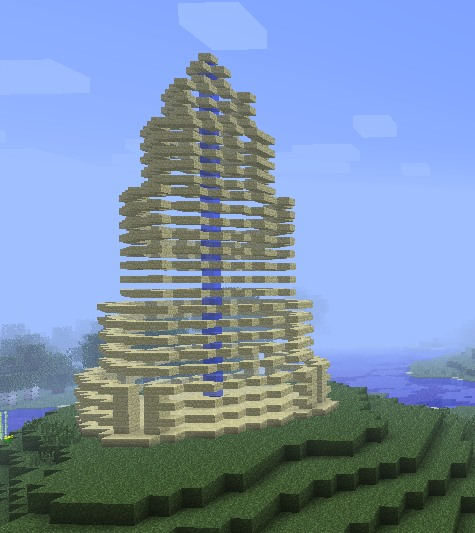 Fibonacci-ish tower temple