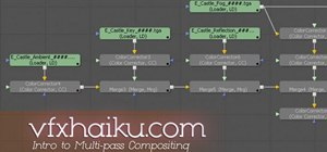 Do multi-pass 2D compositing in C4D & Fusion 5
