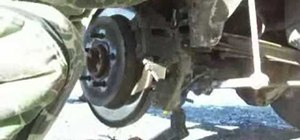 Replace brake pads on a 2000 Ford Expedition