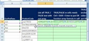 Verify an ID prefix in Microsoft Excel