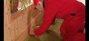 How To Lay Straight Tile With A Crooked Wall