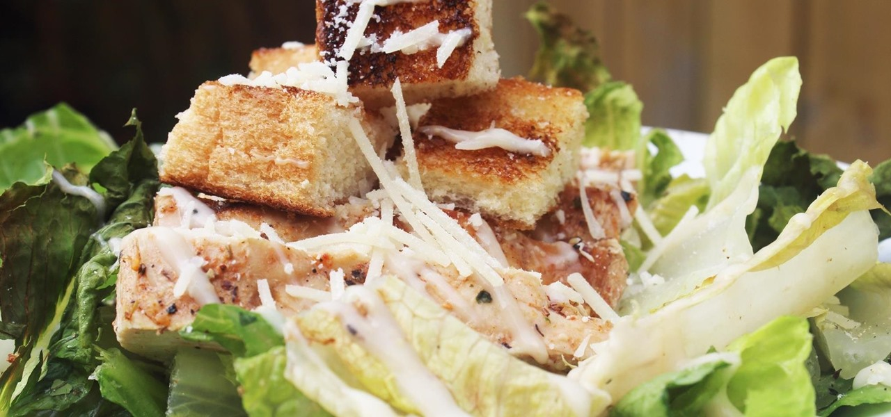 For a Better-Tasting Caesar Salad, Grill All the Ingredients