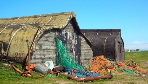 Old Fishing Boats Upcycled to Architectural Wonders