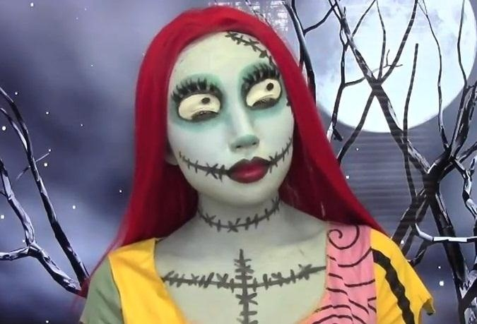 6sally from the nightmare before christmas - Sally Nightmare Before Christmas Makeup
