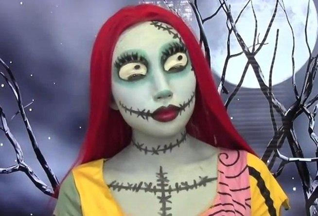 DIY Creepy Halloween Makeup Looks ~ NutButterLuver - How To Halloween Makeup