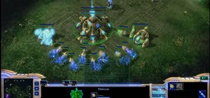 Use the Nony's Dual Gate Phoenix build order for Protoss in StarCraft 2