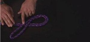 Tie a figure-eight loop
