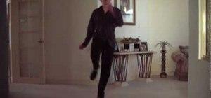 Do Michael Jackson's leg kick dance move