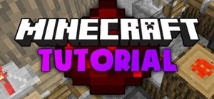 Use redstone to make doors, buildings, walls and other structures in MineCraft
