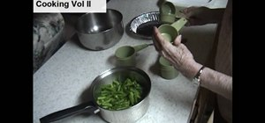 Prepare country style green beans