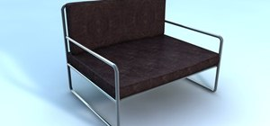 Make a 3D model of a chair in MAXON Cinema 4D