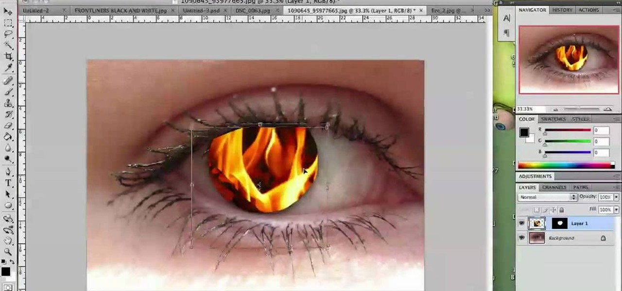 Photoshop CS4 Tutorials: Wicked Creative Tips - designrfix.com