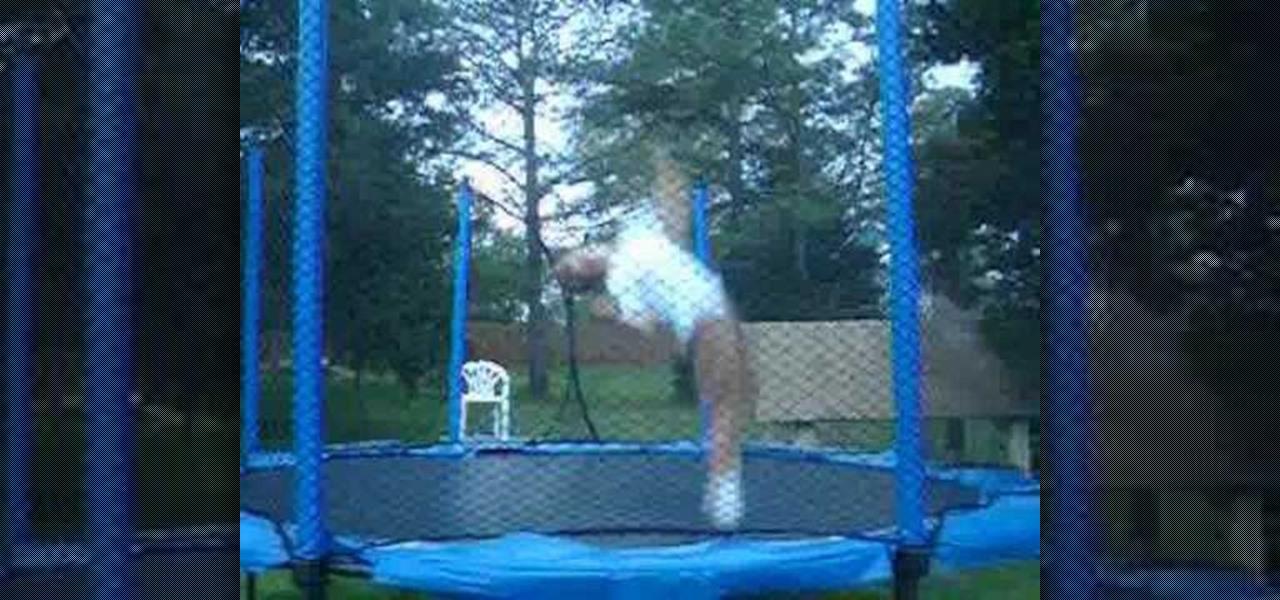 how to perform a backflip 360 for trampoline gymnastics. Black Bedroom Furniture Sets. Home Design Ideas