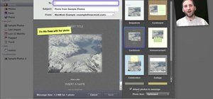 Email a picture to someone from within Apple iPhoto 11
