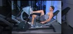 Develop your legs with seated one leg presses