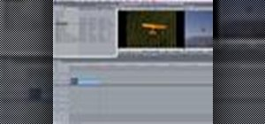 Open format timeline in Final Cut Express