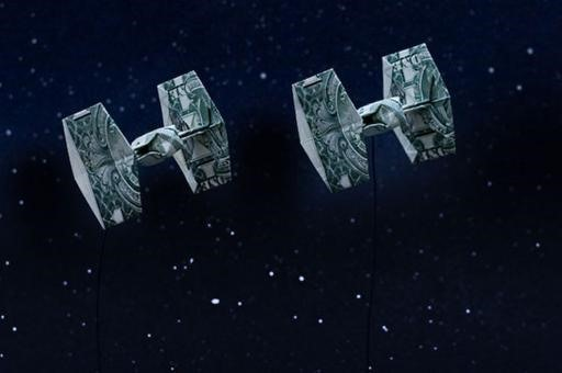 Star Wars Moneygami