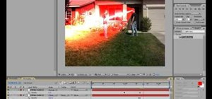 Make laser, clone, or disintegrate fx in After Effects