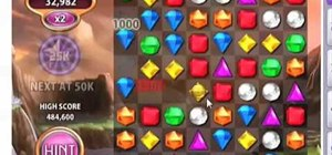 Get insanely high scores when playing Bejeweled 3