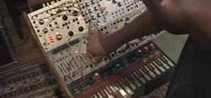 Patch a Buchla 200 modular synthesizer