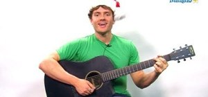 "Play the ""12 Days of Christmas"" song on guitar for the holidays"