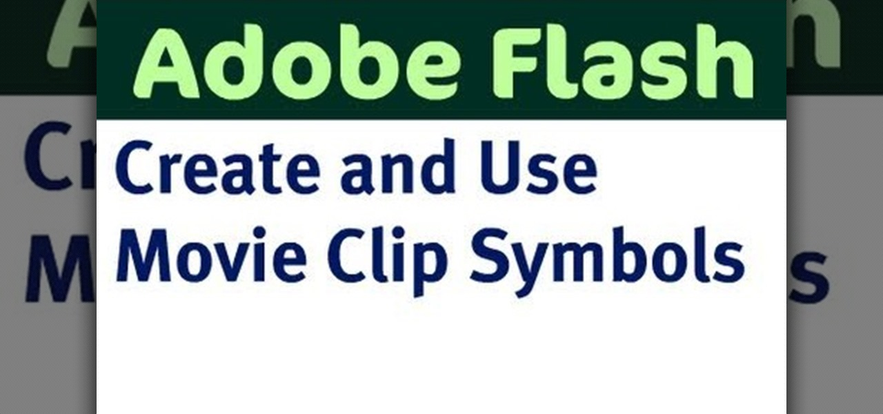 How To Create A Movie Clip Symbol In Adobe Flash Adobe Flash