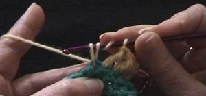 Crochet a treble stitch