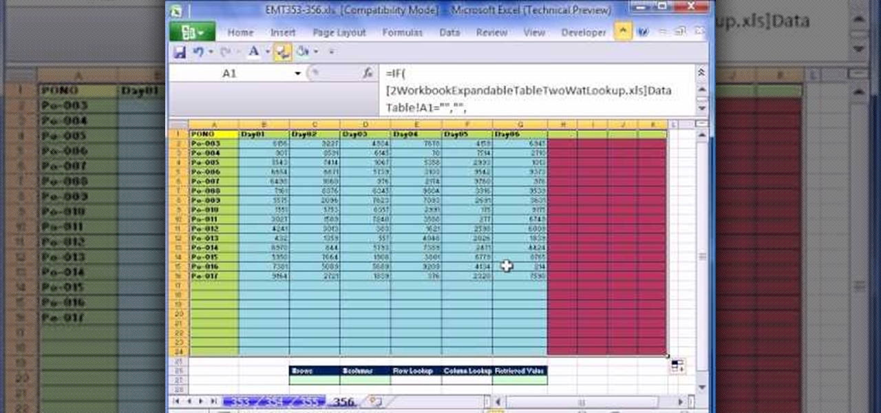 how to retrieve data from a different workbook in excel  u00ab microsoft office    wonderhowto