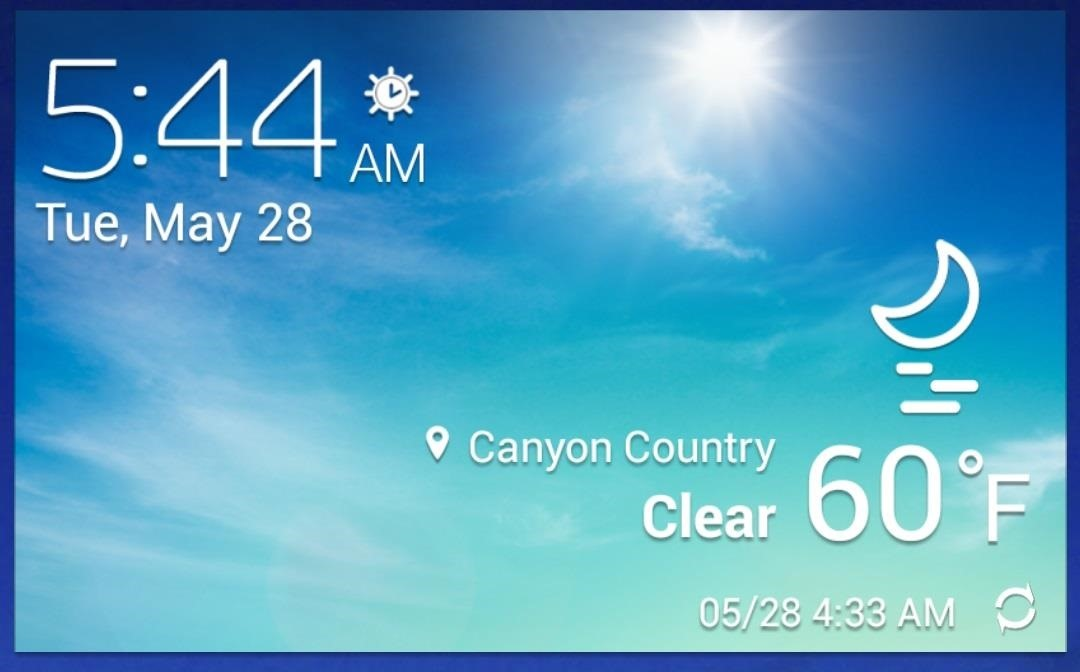 How to Make the Stock Weather Widget Transparent on Your Samsung Galaxy S4