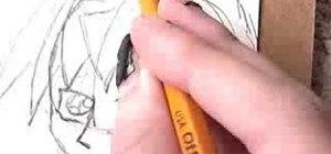 Draw Ryo Bakura YGO style