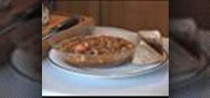 Prepare homemade lentil soup