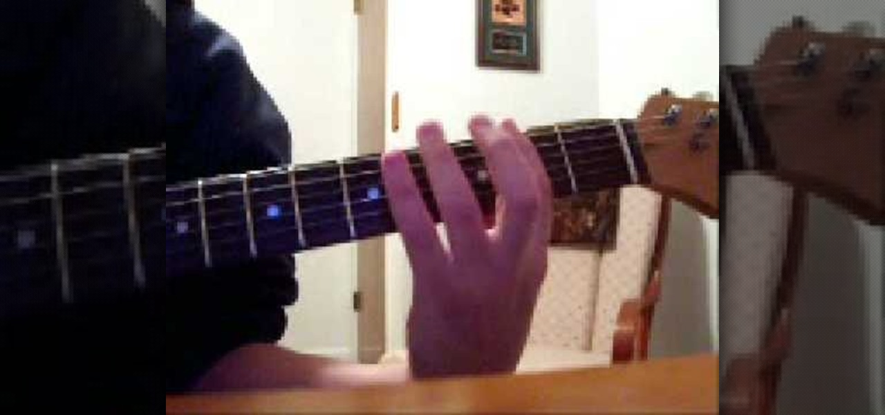 How To Play Crazy Train By Ozzy Osbourne On An Acoustic Guitar