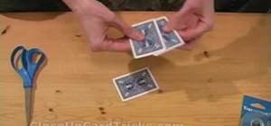 "Perform the ""three card monte"" card trick"