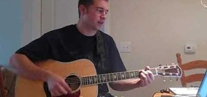 "Play ""Home"" by Chris Daughtry on acoustic guitar"