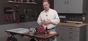 Use a handheld router with Skil & Lowe's