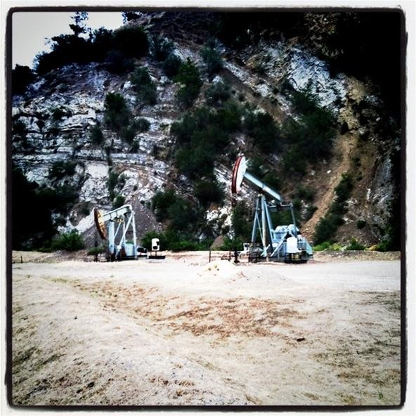 Instagram Challenge: Oil Rigs in the Wild