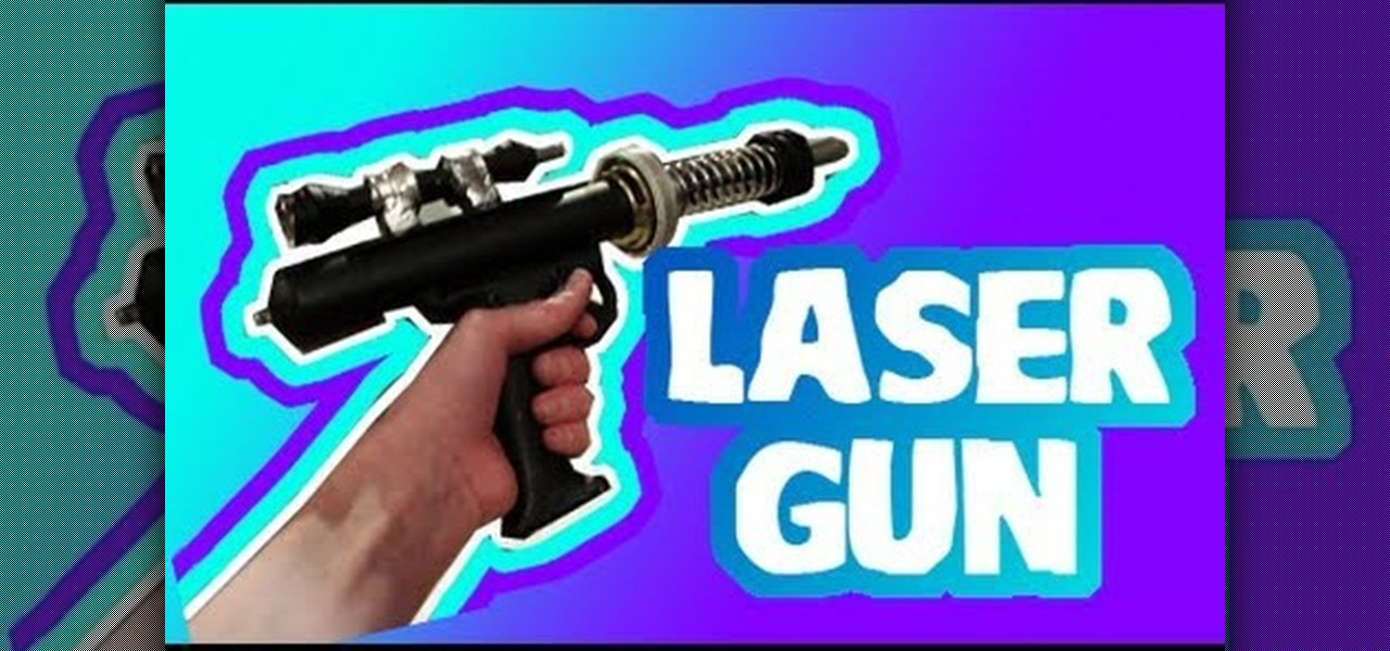 How To Construct A Laser Gun Prop Out Of Pvc Pipe And An