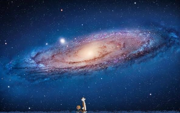 Calvin Hobbes Os X Desktop Wallpaper Astronomy Wonderhowto