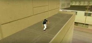 Use Parkour in GTA Vice City