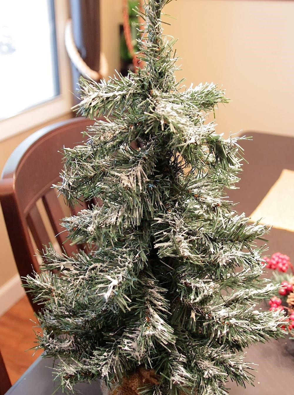 spruce up a boring christmas tree with this cheap one ingredient flocking aka fake snow christmas ideas wonderhowto - Cheap Christmas Trees For Sale