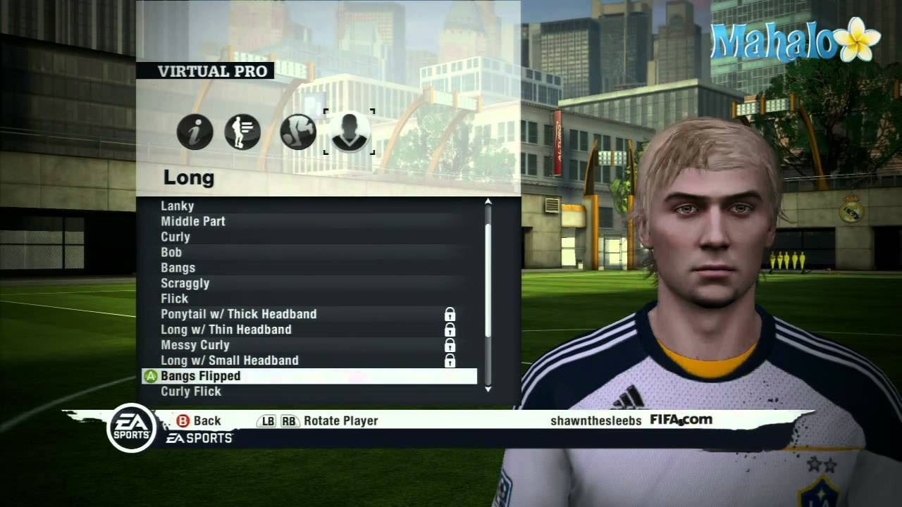 Play career mode in FIFA Soccer 11 on the Xbox 360 - Part 3 of 15