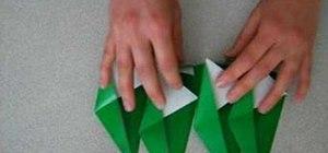 Origami a geometric star