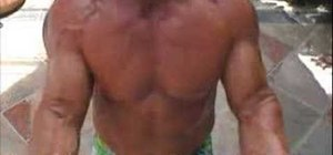 Do a killer bicep & tricep bodybuilding workout